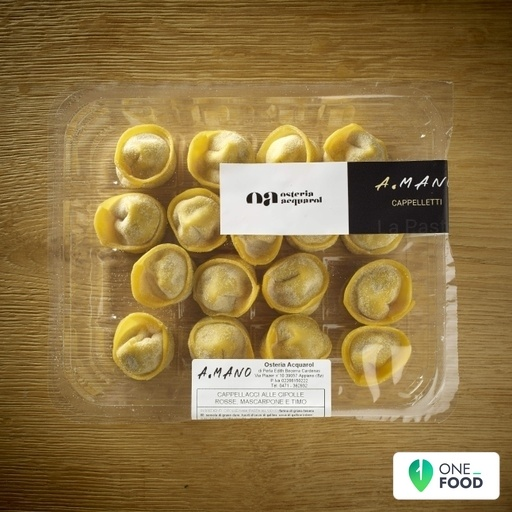 Cappellacci With Red Onion And Mascarpone Cheese 1 X 300 G